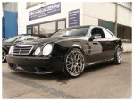 Mercedes W208 CLK Black AC